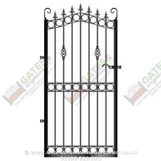 Tall Metal Side Gates