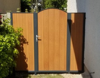 Aluminium Split Side Gates