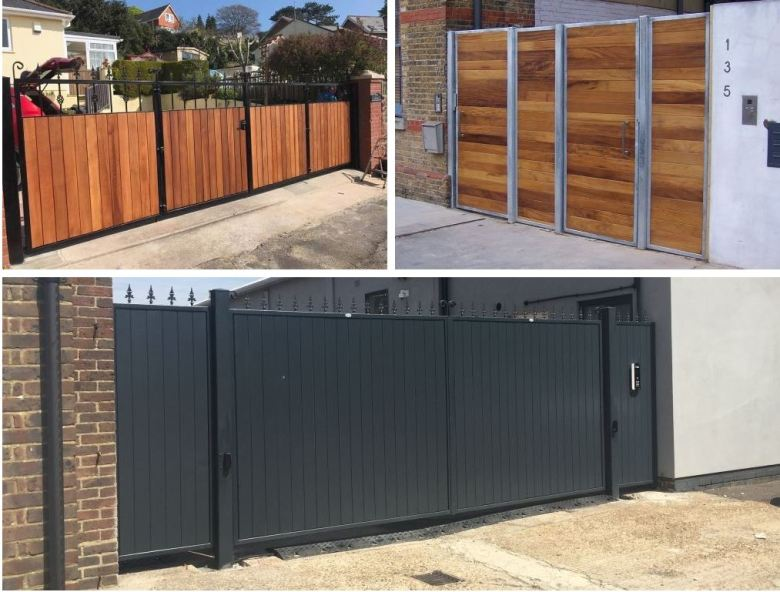Commercial gate designs