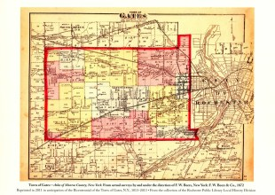Thumbnail for the post titled: Gates Map 1872