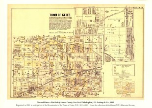 Thumbnail for the post titled: Gates Map 1902
