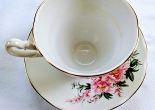 Thumbnail for the post titled: Individual Teacup & Saucer