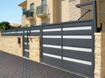 aluminum gate, Aluminum Gates