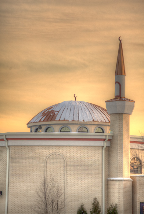 A mosque in my home town