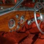 1938 Delahaye 135MS Sports Cabriolet interior