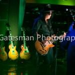 Slash and guitars