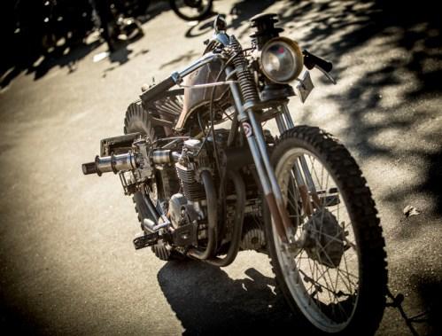 Badd Azz Steampunk Chopper