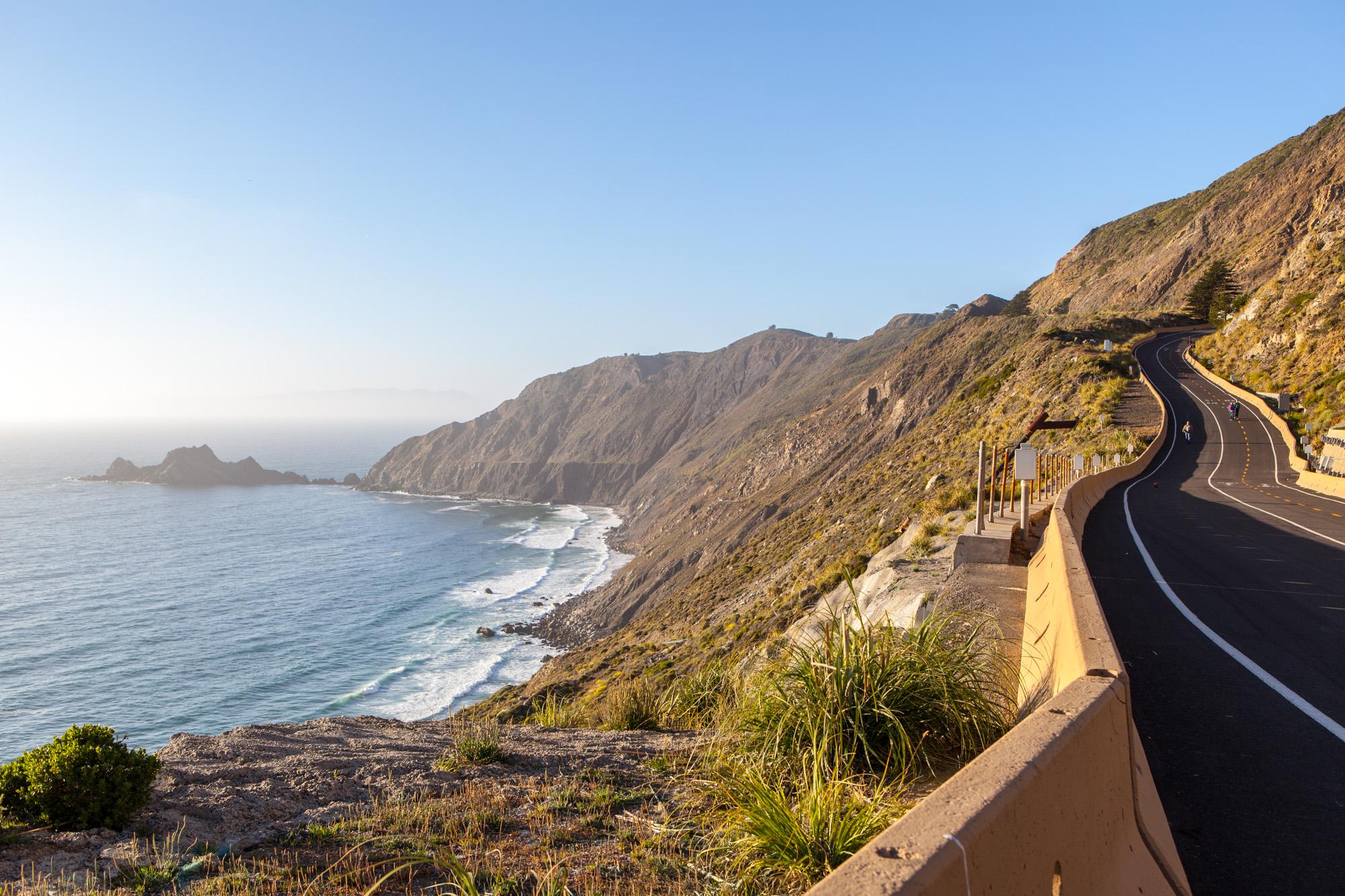 Devil's Slide Trail near San Francisco