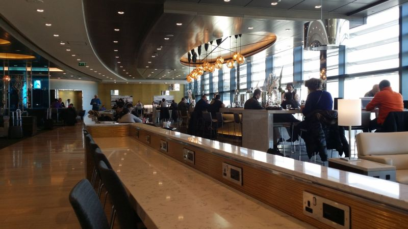 United Club at London Heathrow Airport