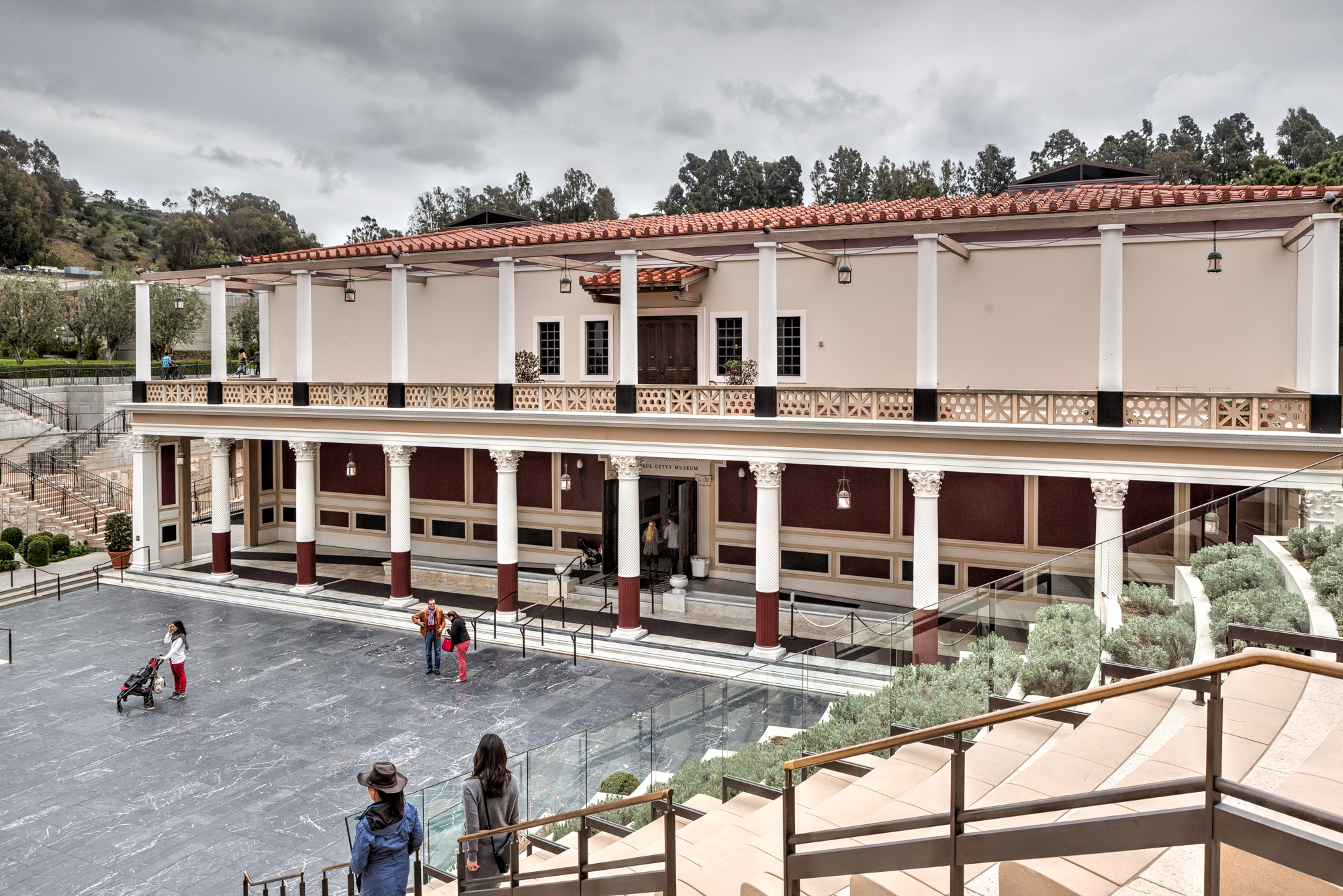 the getty villa Getty villa museum was renovated, increasing it visitor facilities to serve as a  center for the study of ancient art, archeology and conservation.