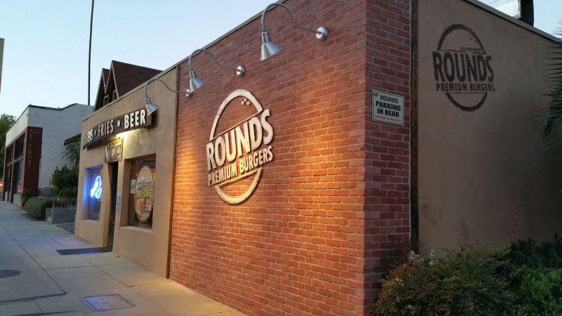 Rounds Premium Burgers