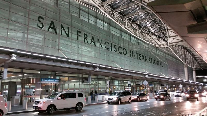 San Francisco International Airport Departure Level