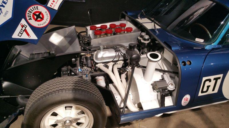 Shelby Daytona Engine