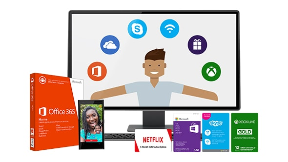 Work and Play offer from Microsoft comes with 4 GoGo WiFi passes