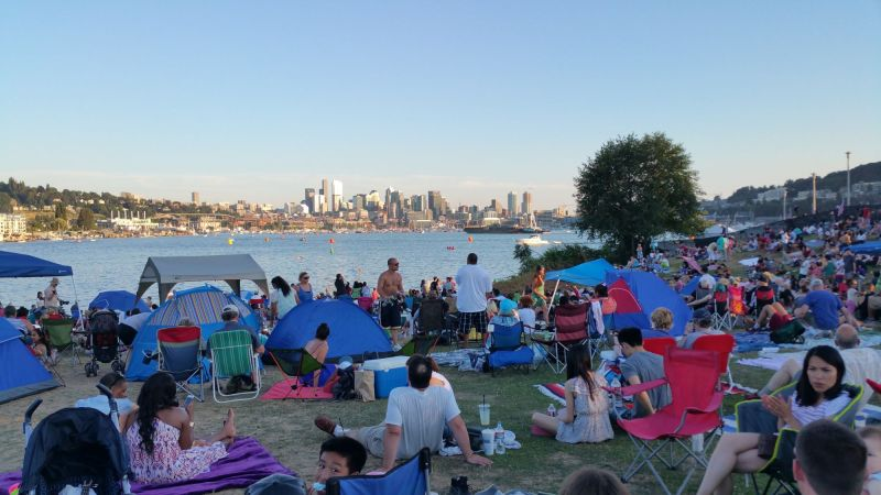 Celebration at Gas Works Park