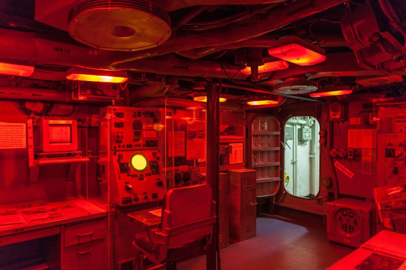 USS Turner Joy DD-951 - Radar Room