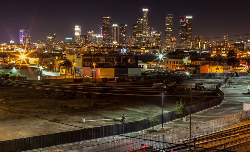 LA Skyline by night