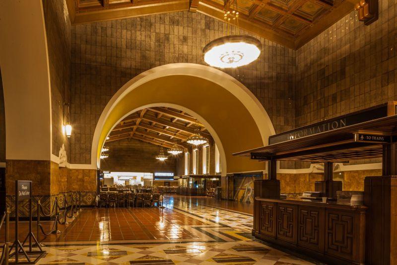 """Empty"" Union Station"
