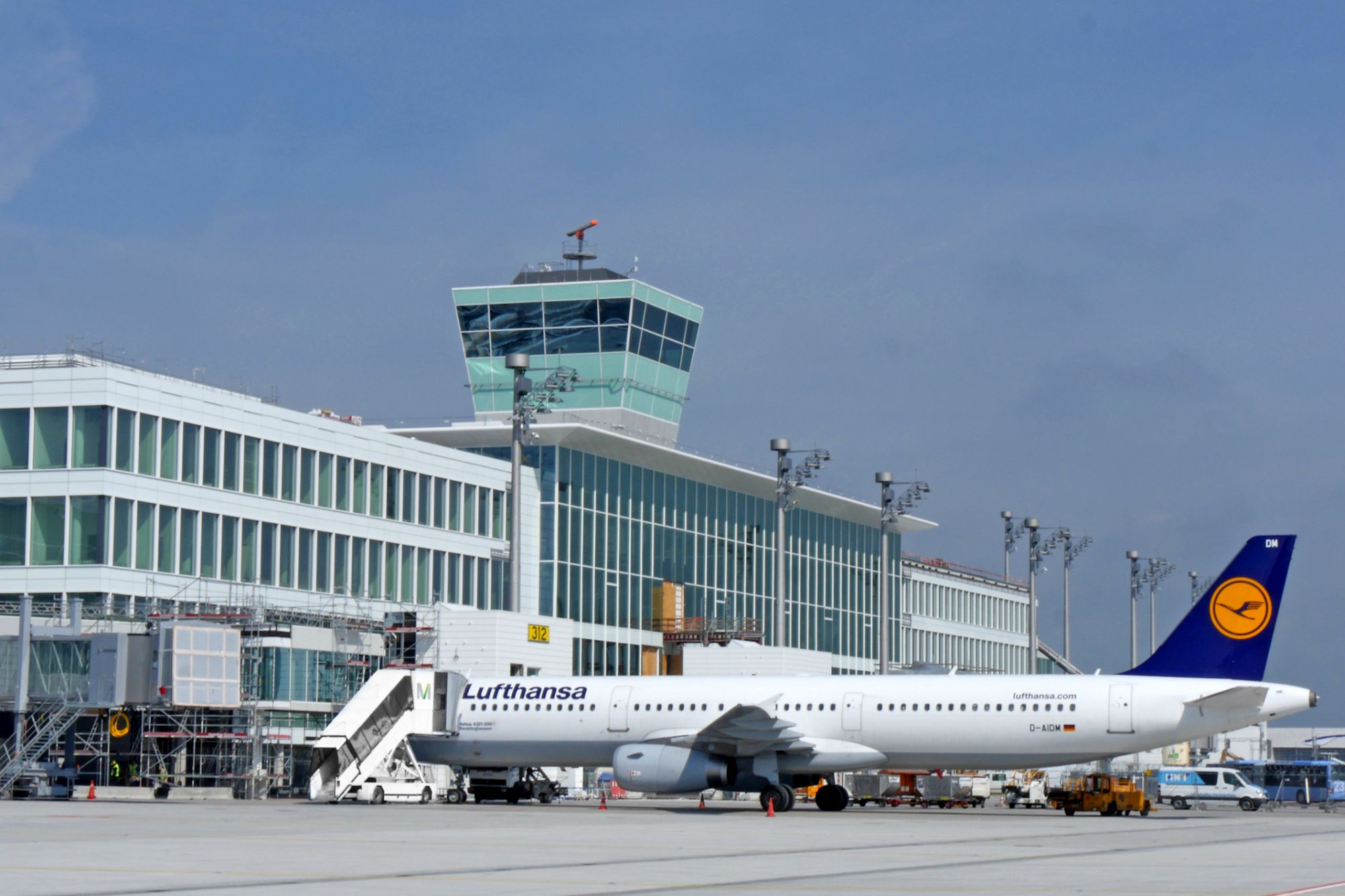 Observations and Thoughts during My Day of Testing Munich's Terminal 2 Satellite