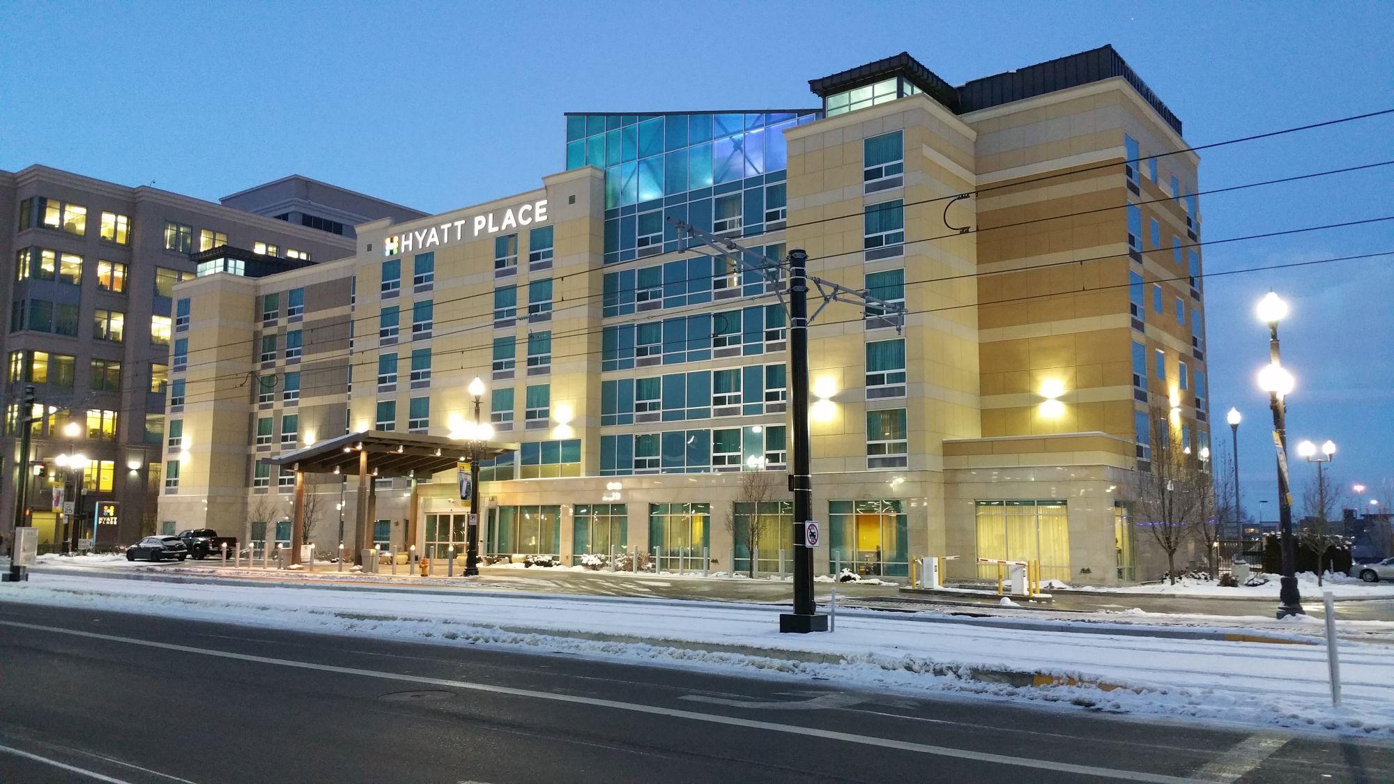 hotel review hyatt place salt lake city downtown the. Black Bedroom Furniture Sets. Home Design Ideas