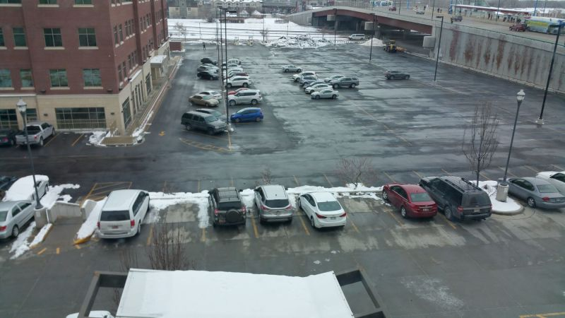 Upper and Lower Parking Lot