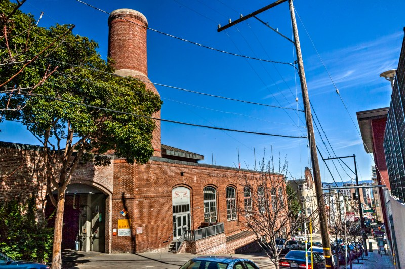 Cable Car Museum, Car Barn and Chimney