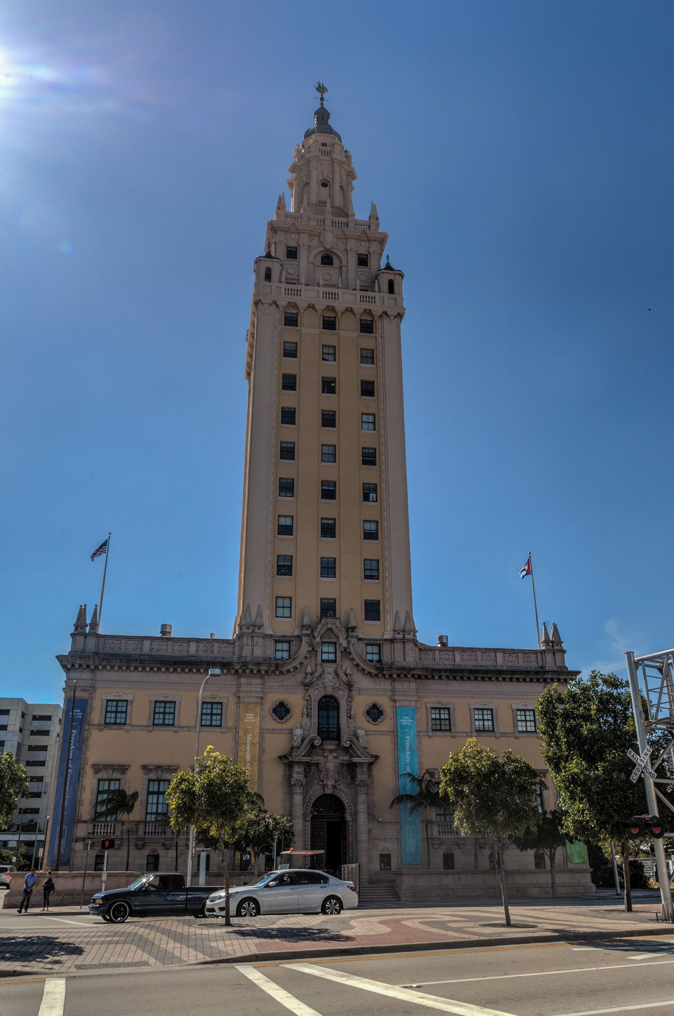 freedom tower in miami florida gate to adventures