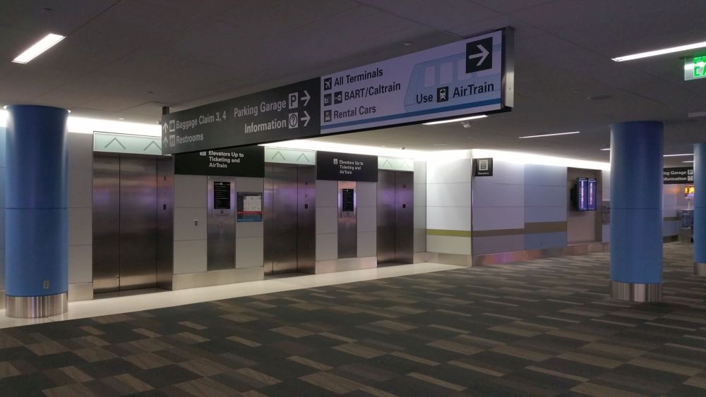 Elevators to AirTrain