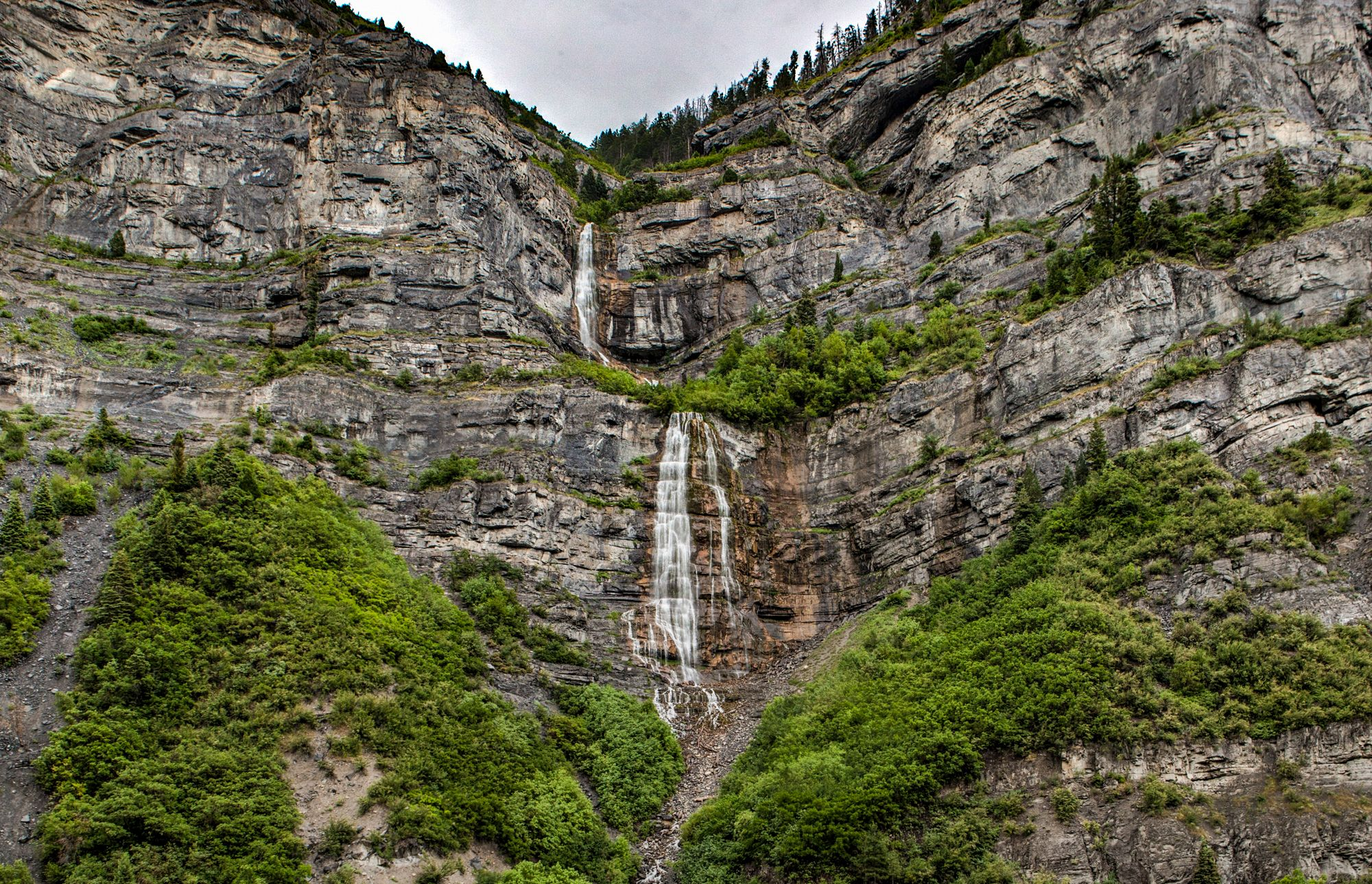 Photo of the Week: Bridal Veil Falls in Provo Canyon, Utah