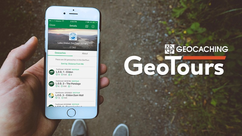 Geocaching Is Bringing GeoTours to Your Phone