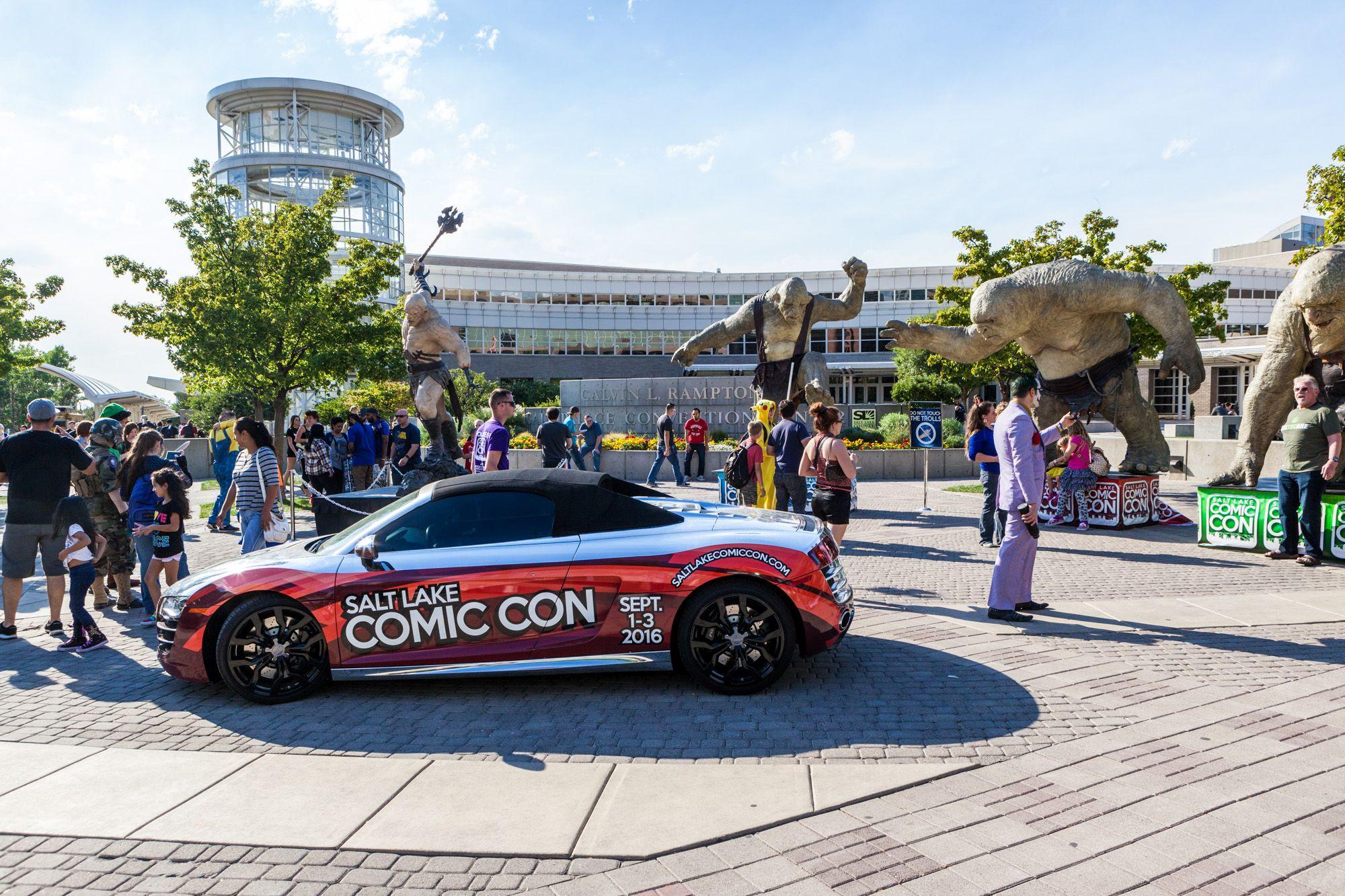 Salt Lake City Comic Con 2016 Recap