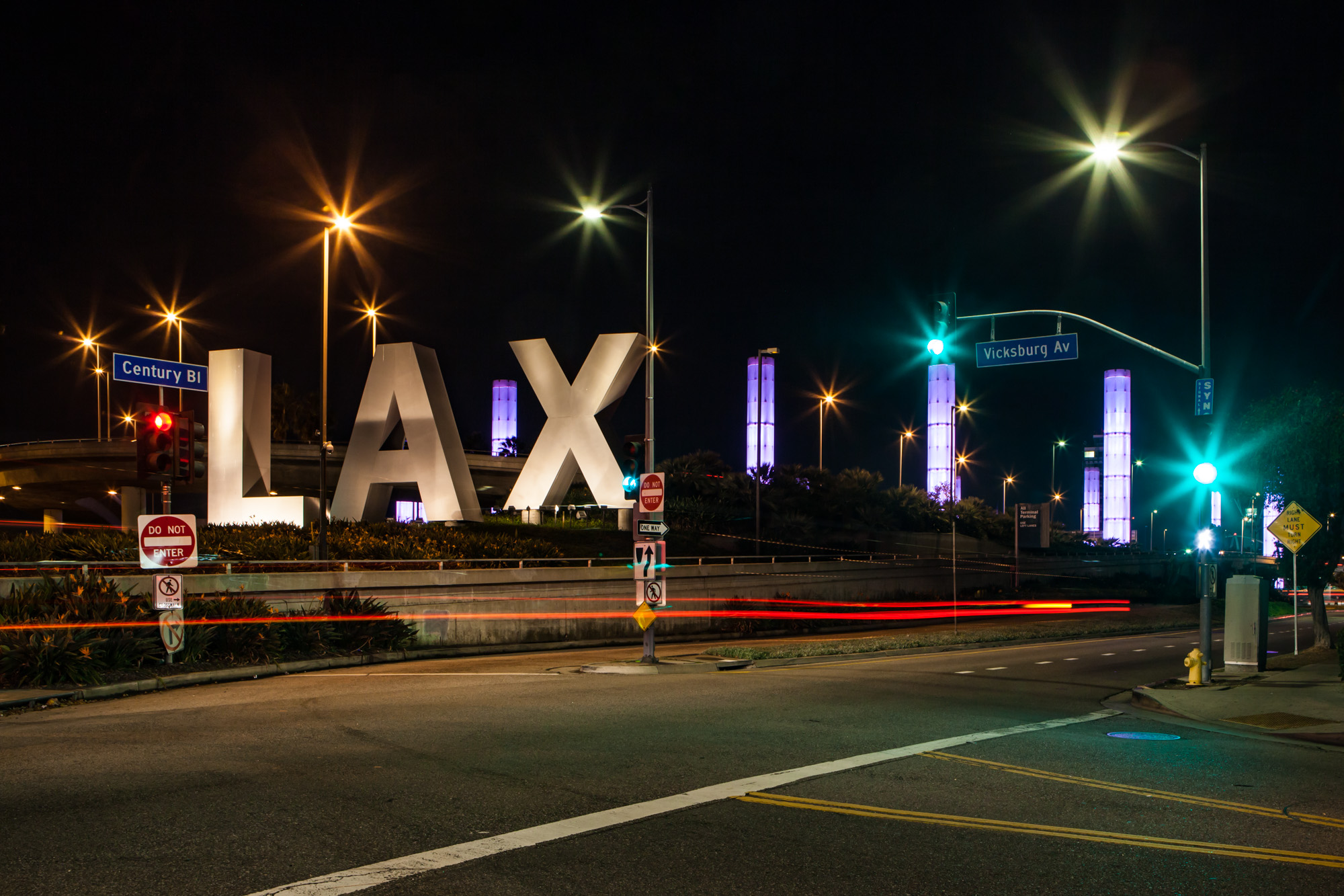 Photo of the Week: LAX Pylons and Sign
