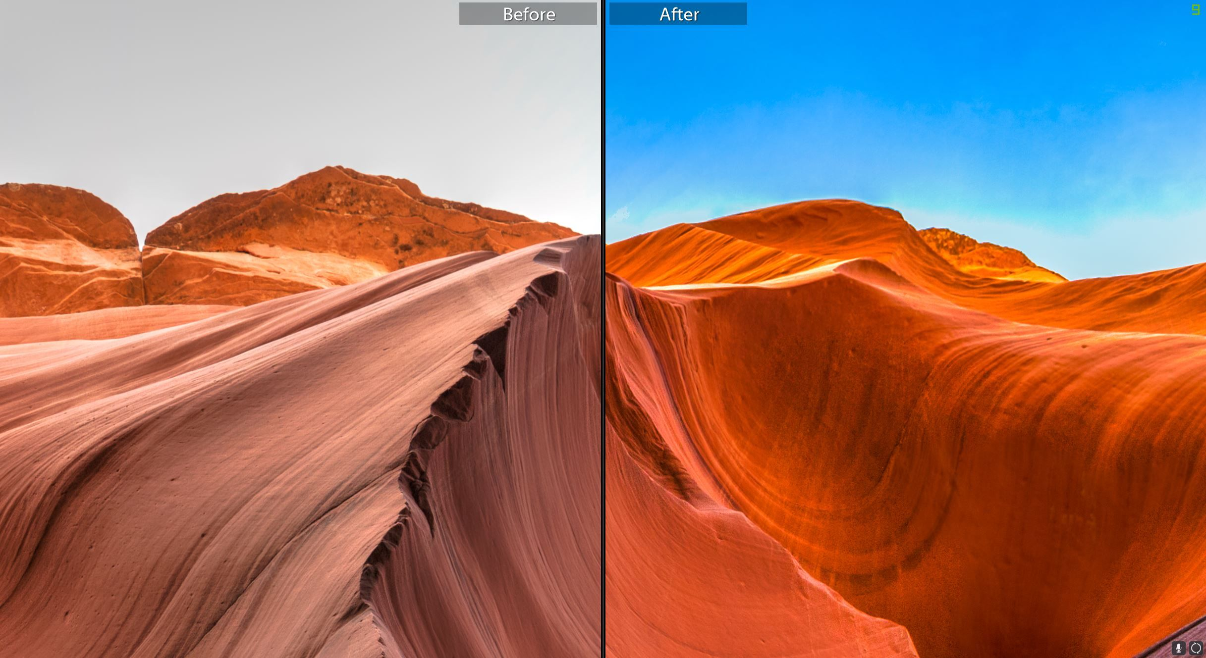 How to Fix Blown out Sky in Lightroom