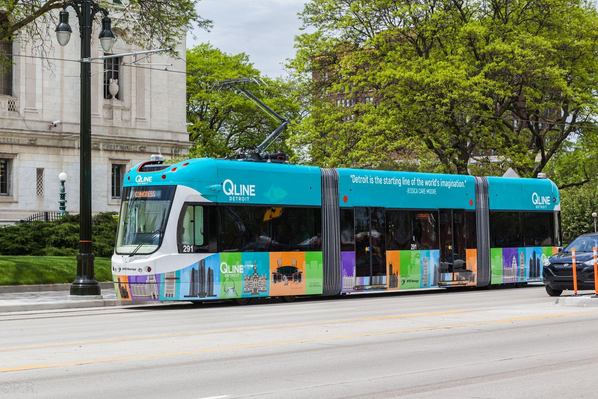 QLine – Detroit's Newest Additon to its Public Transportation System
