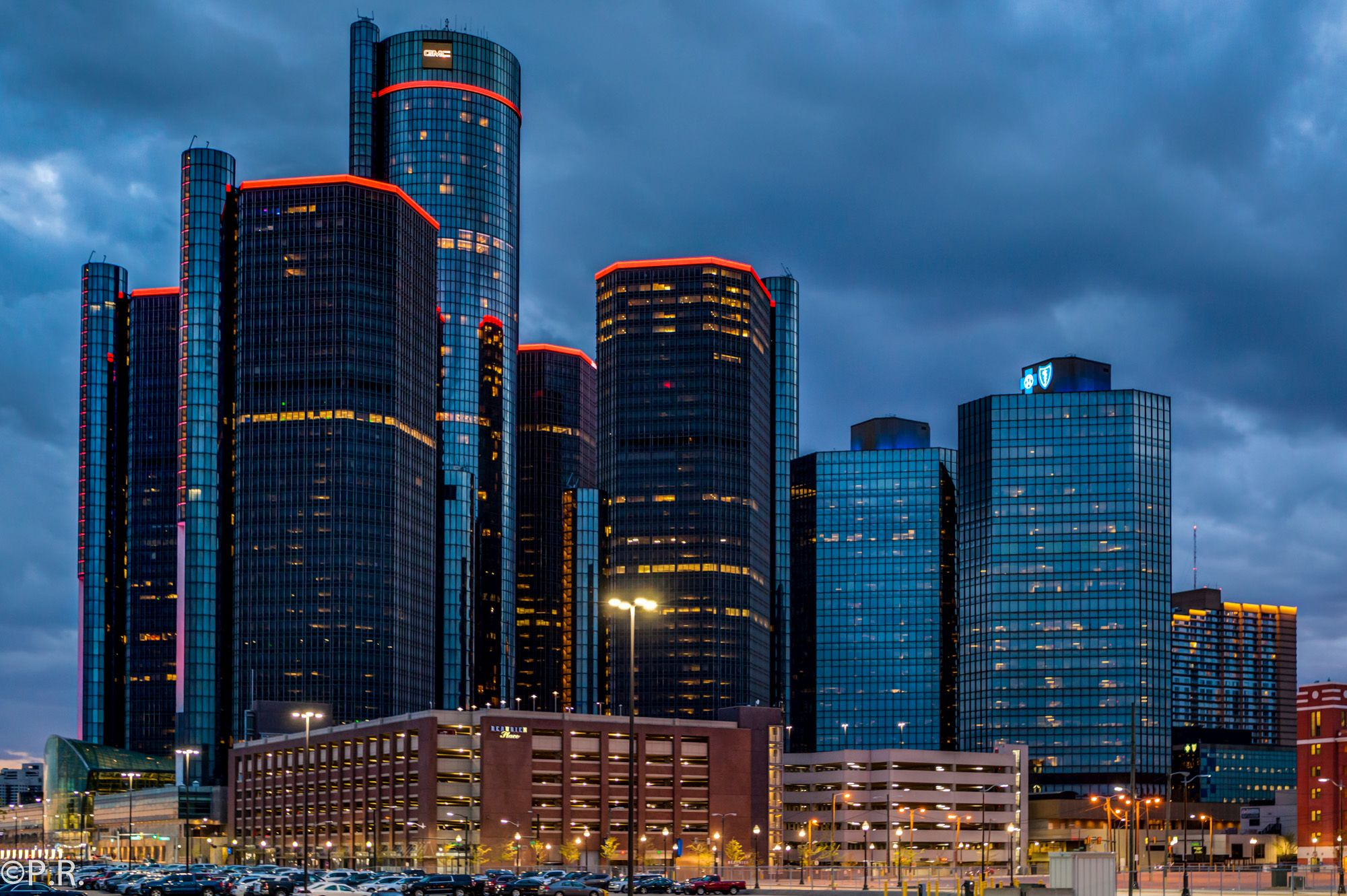 Photo of the Week. GM Renaissance Center in the Motor City