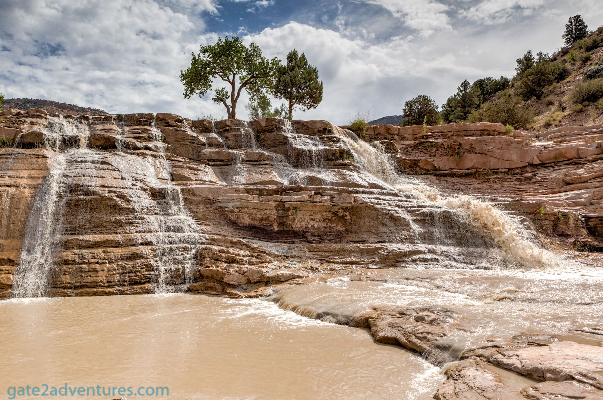 Toquerville Falls, Utah – an Off-Road-Trip