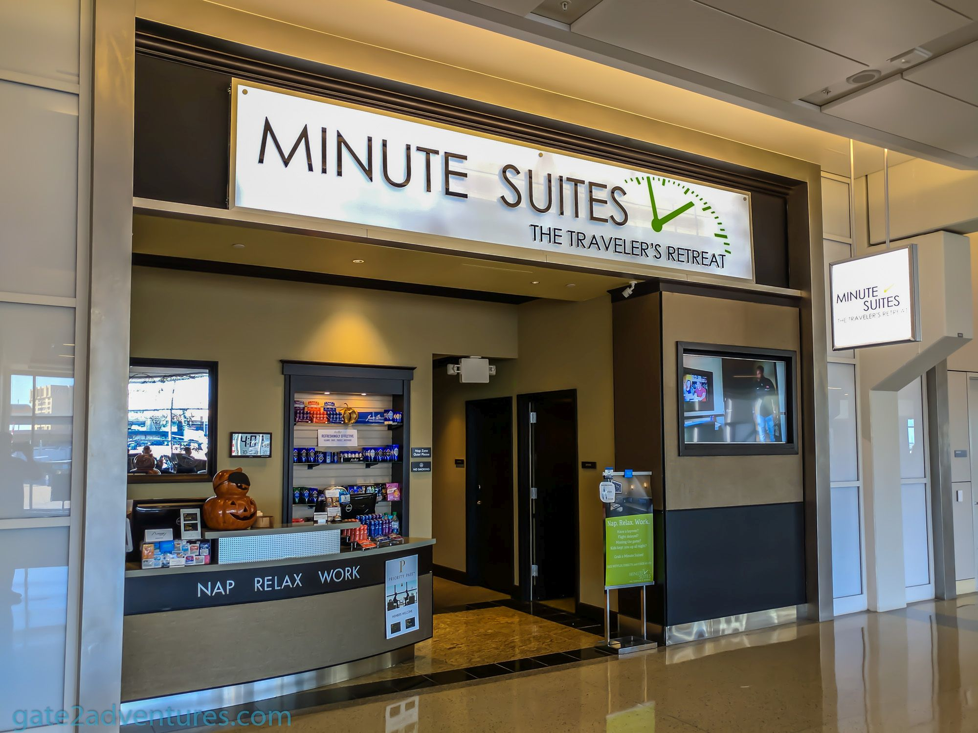 Lounge Review: Minute Suites at Dallas/Fort Worth (DFW) Terminal A