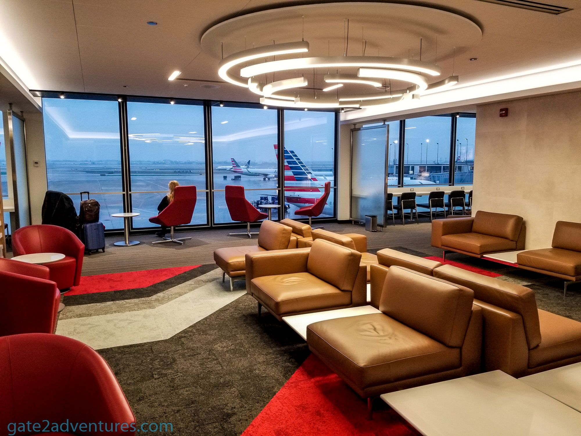 American Airlines Flagship Lounge Chicago O'Hare (ORD) – Terminal 3