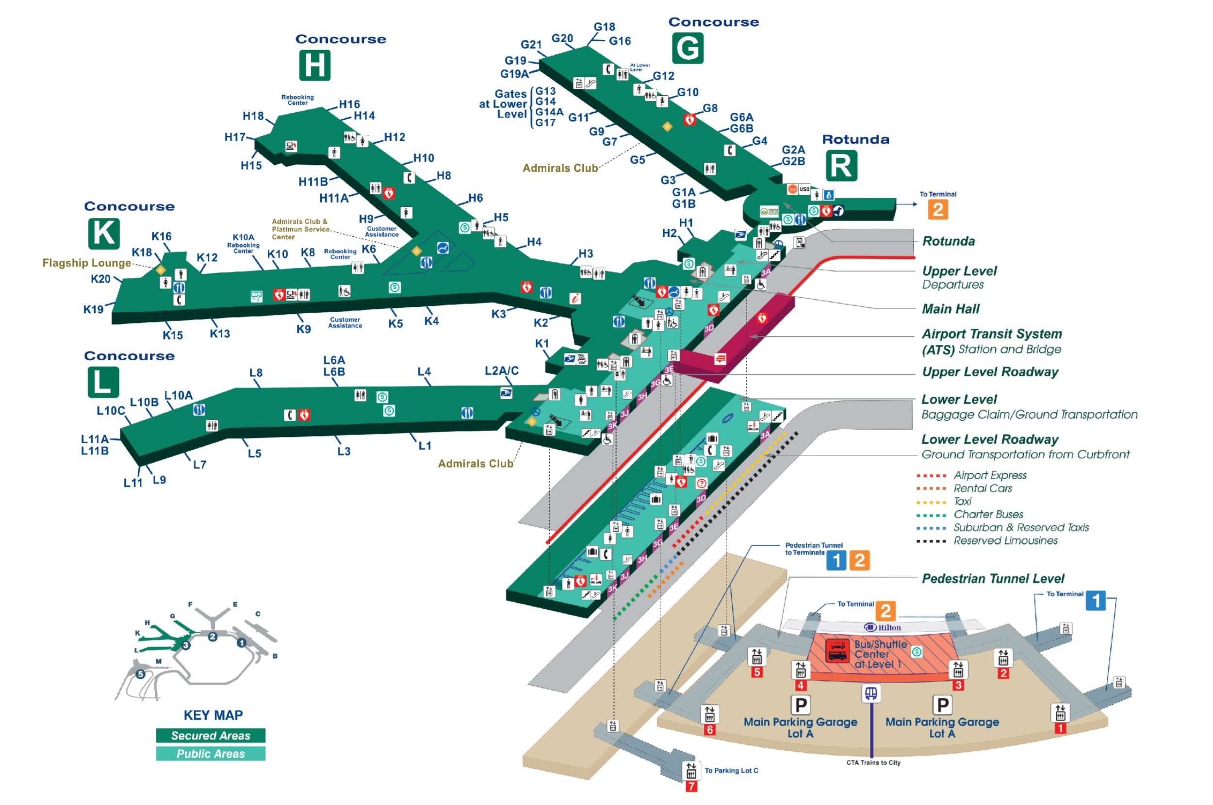 Ord Terminal 3 Map Gate To Adventures