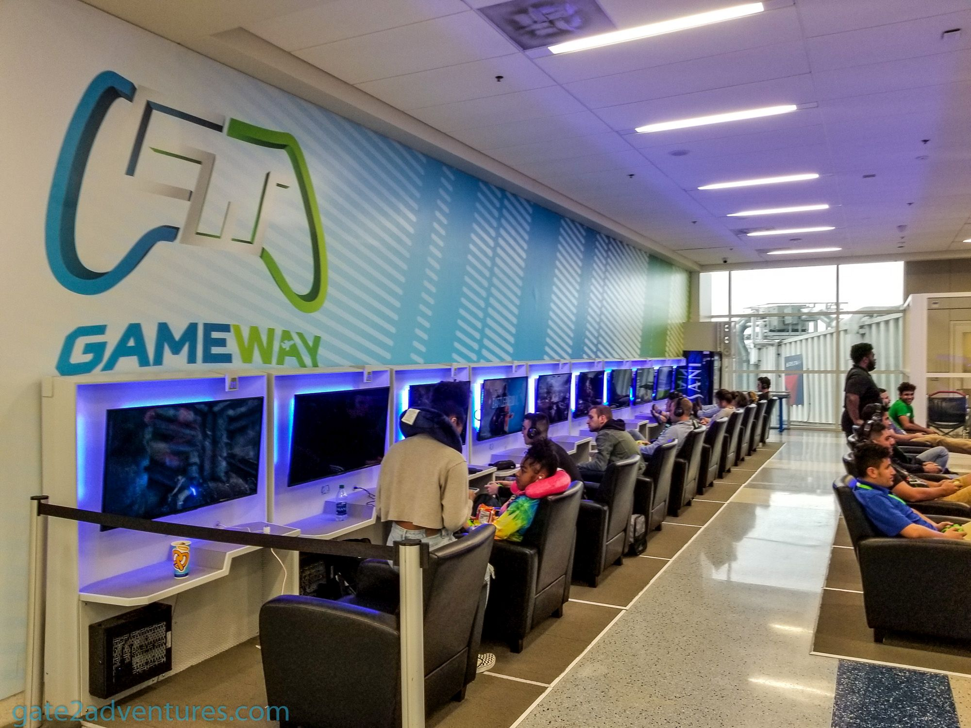 DFW Has Two New Lounges Especially for Gamers