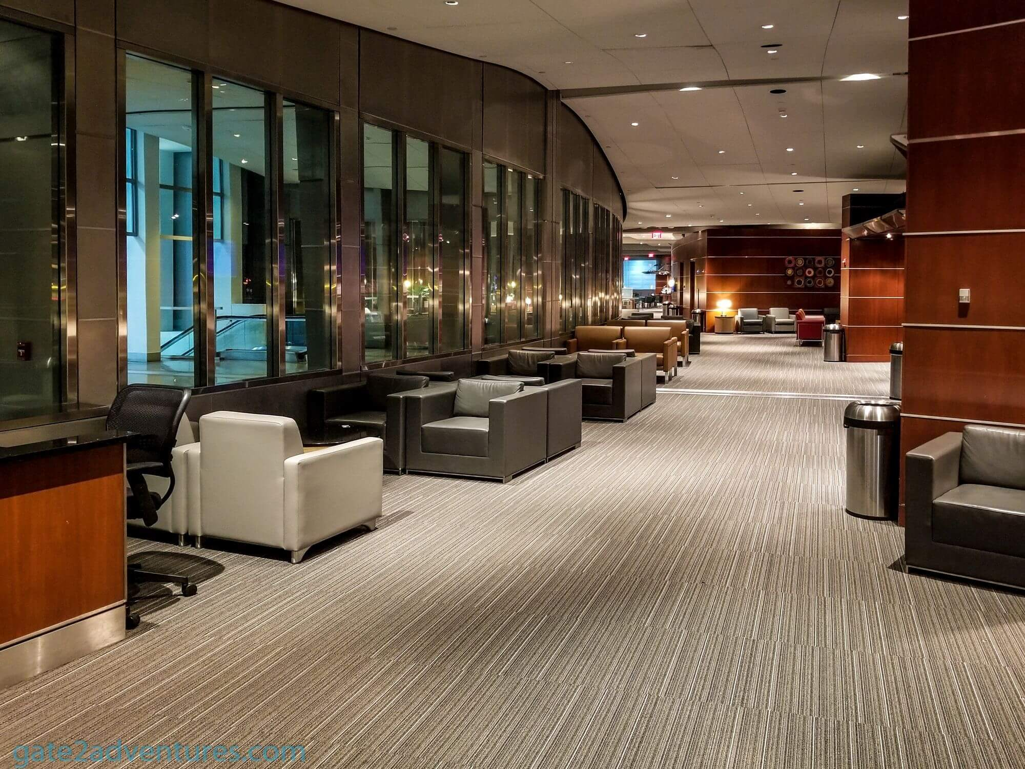 American Airlines Admirals Club Philadelphia - A Gates West