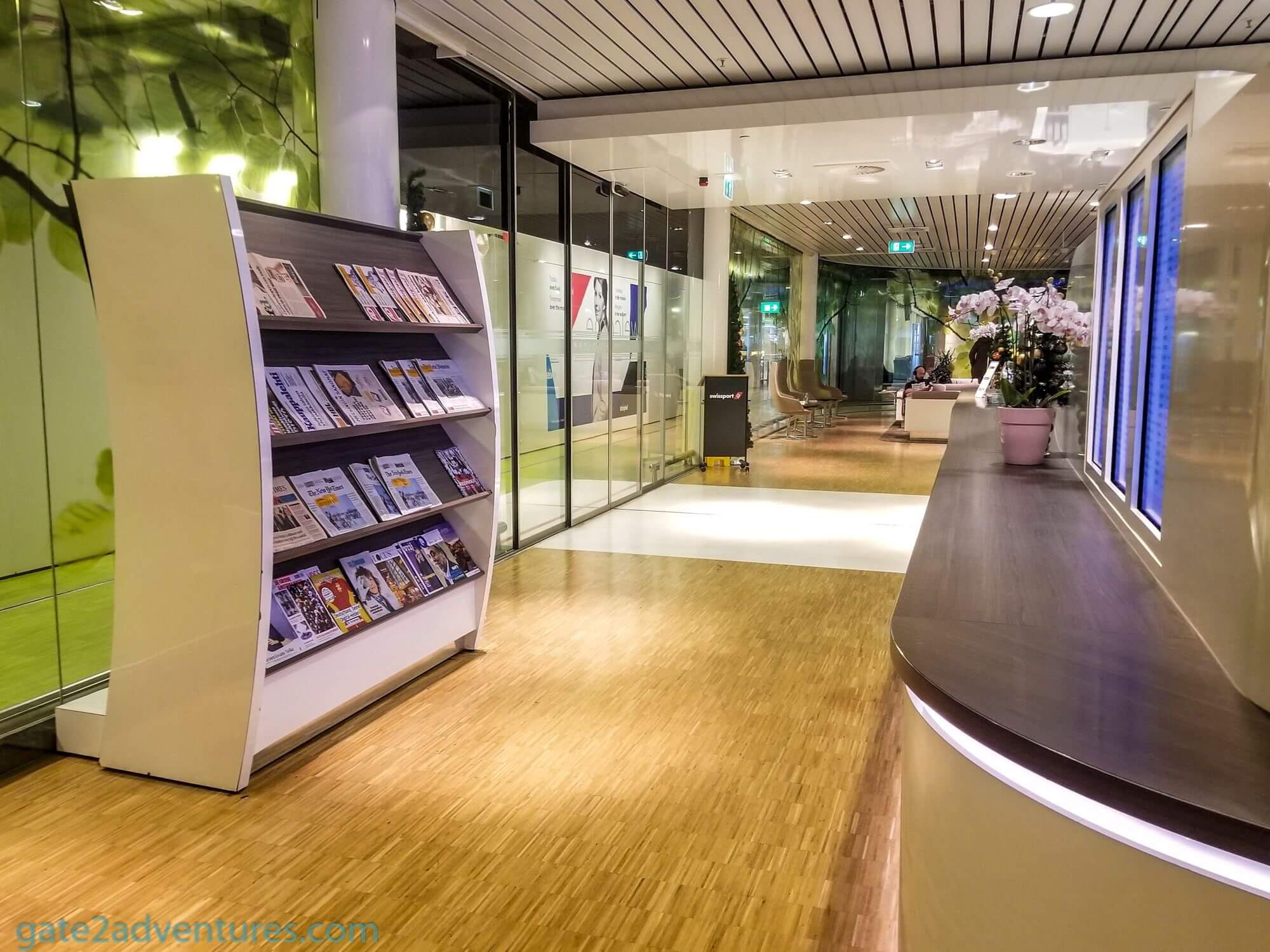 Aspire Lounge (26) Amsterdam Schiphol Airport (AMS)