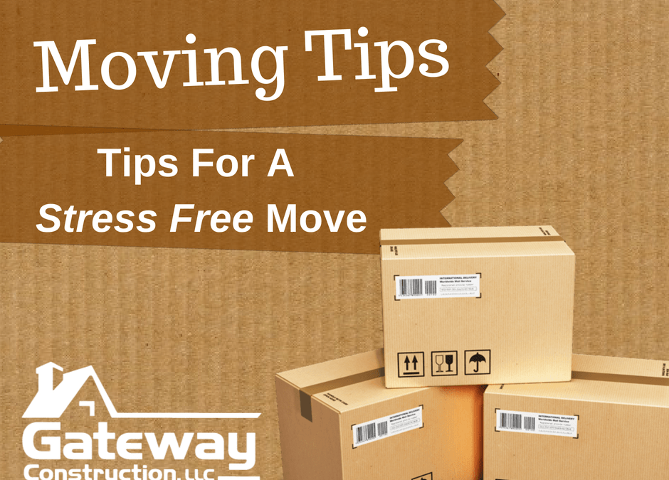 Moving Tips: Tips for a Stress Free Move