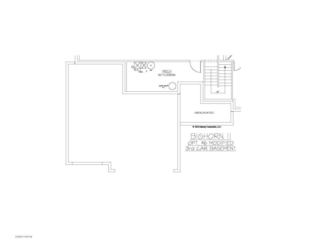 Bighorn II GL Basement Option