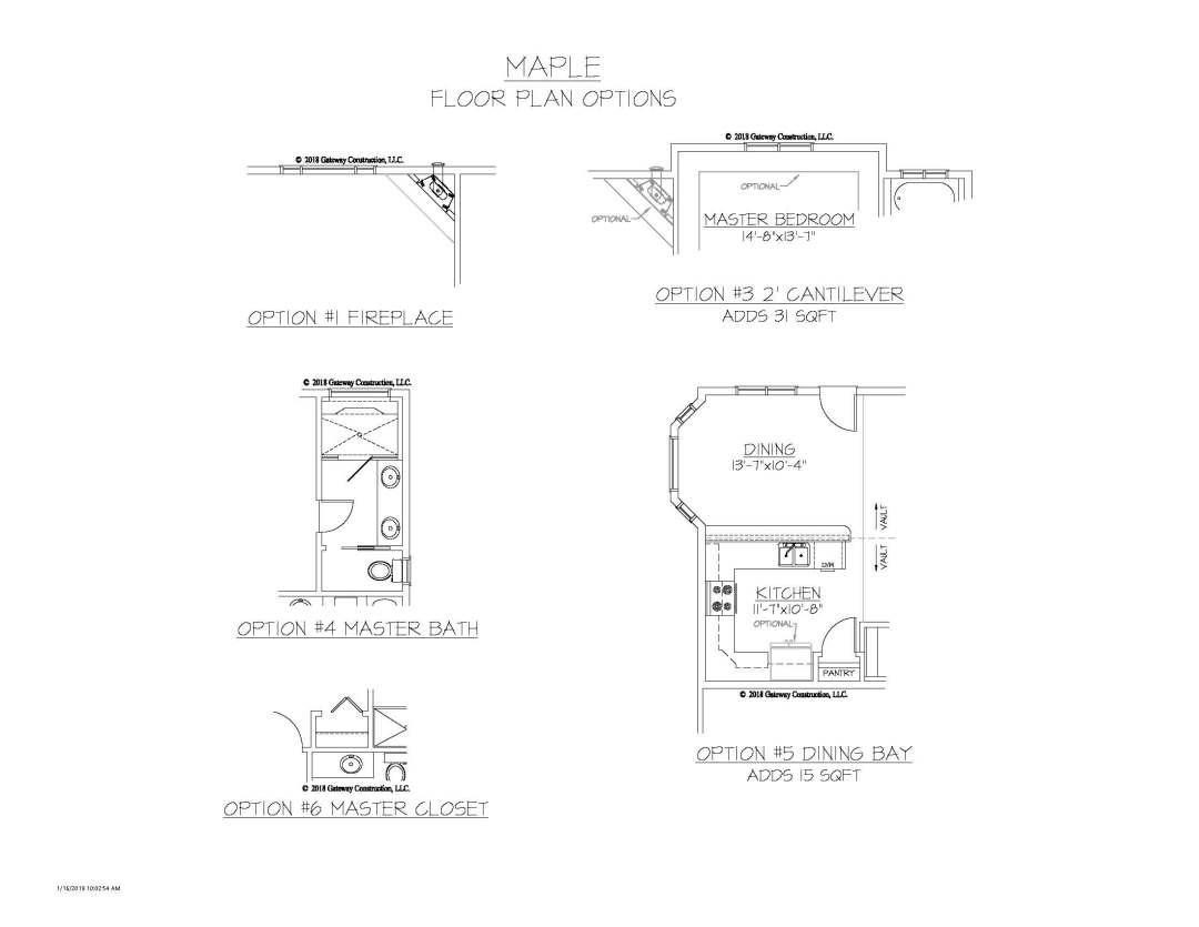 Maple GL Fplan Options