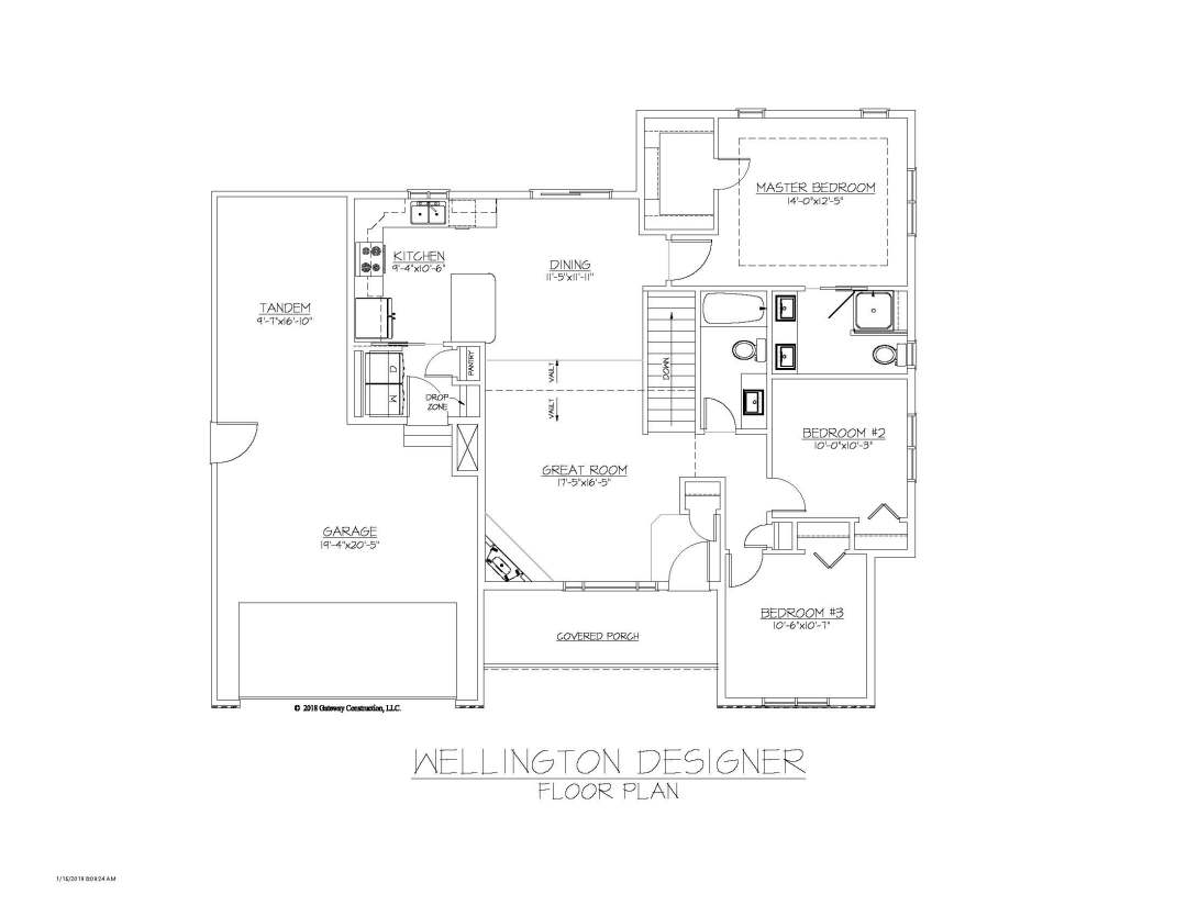 Wellington GL Fplan - D