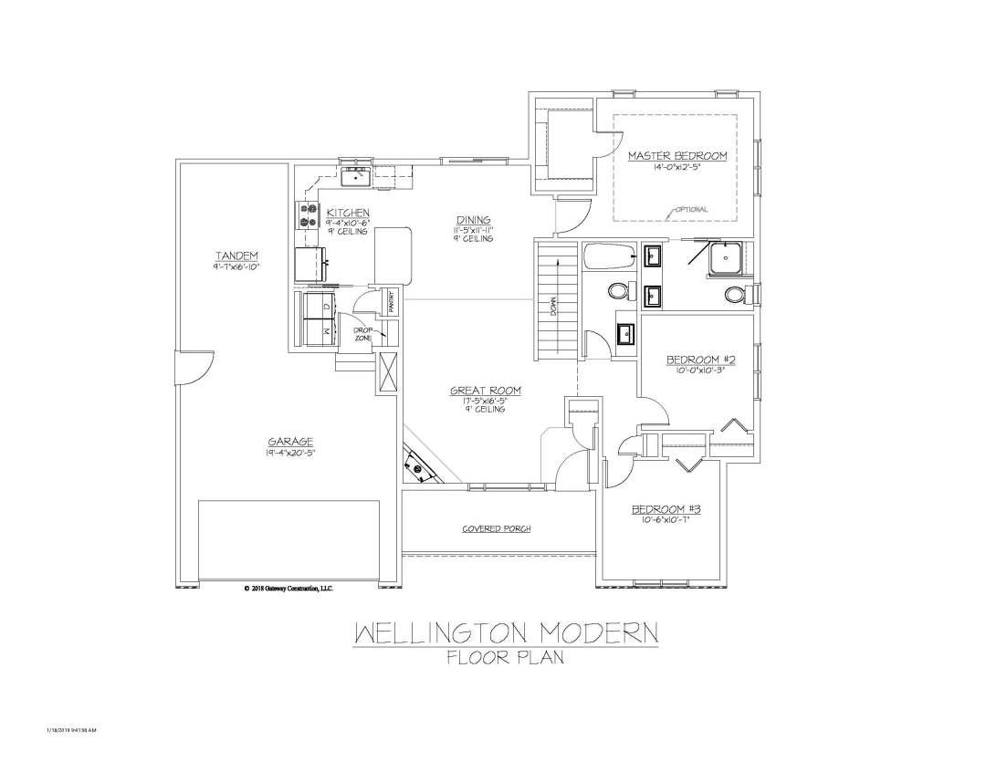 Wellington GL Fplan - M