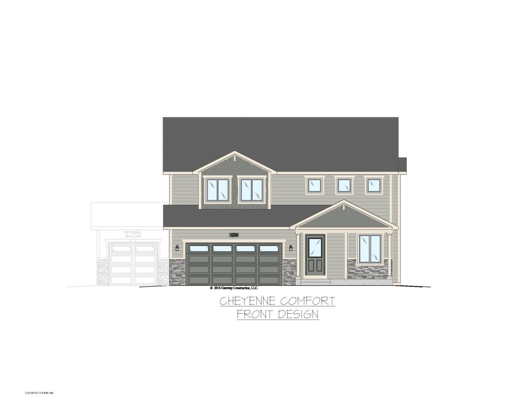 Cheyenne GL Exterior Designs - C No Tree