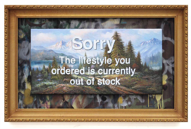 Banky, Sorry the Lifestyle You Ordered is Currently Out of Stock, 2012