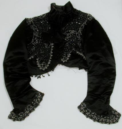 1859-1861 plastic, silk bolero